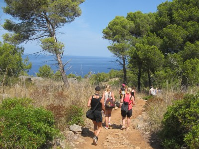 Sea views: Deia to Soller walk