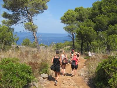 Sea views: Deia to Soller walk